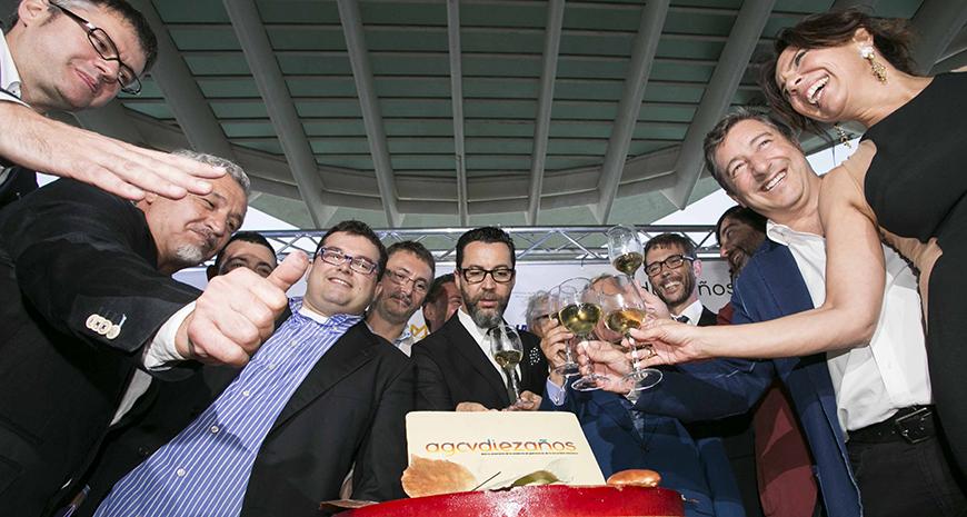 Celebración del X aniversario de la Academia de Gastronomía de la Comunidad Valenciana