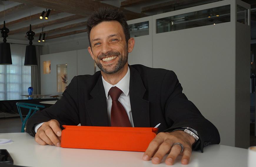 Didier Fertilati, Jefe de Sala de Quique Dacosta Restaurante, nuevo profesor del Máster en Dirección de Restaurantes y F&B Hotelero de la Universidad de Alicante