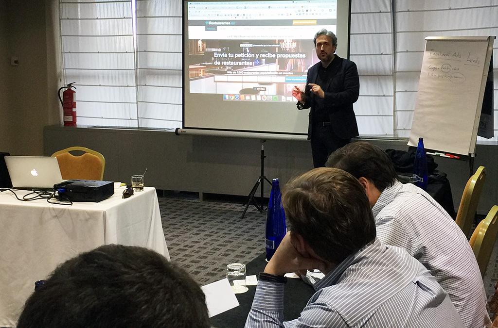 Creando estrategias digitales con Diego Coquillat en Gastrouniversia Madrid