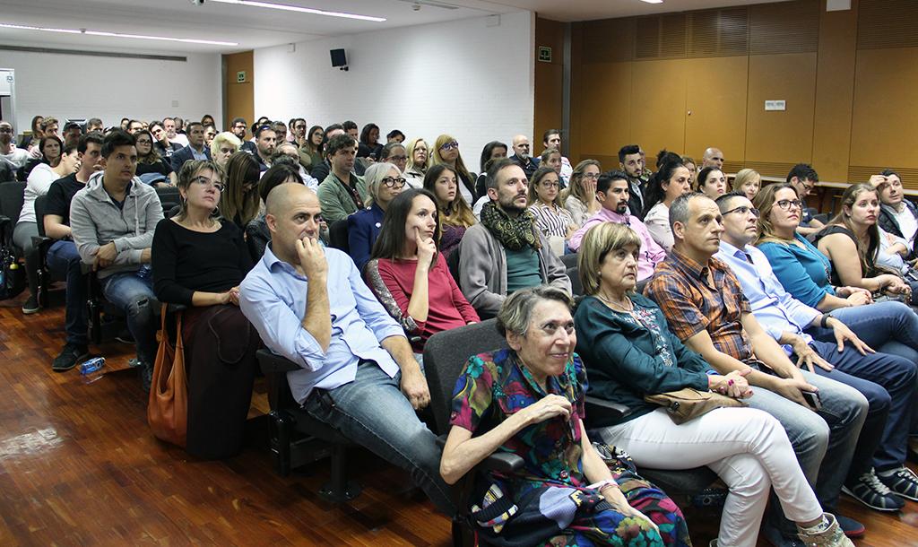 Público en la jornada formativa de Gastrouni