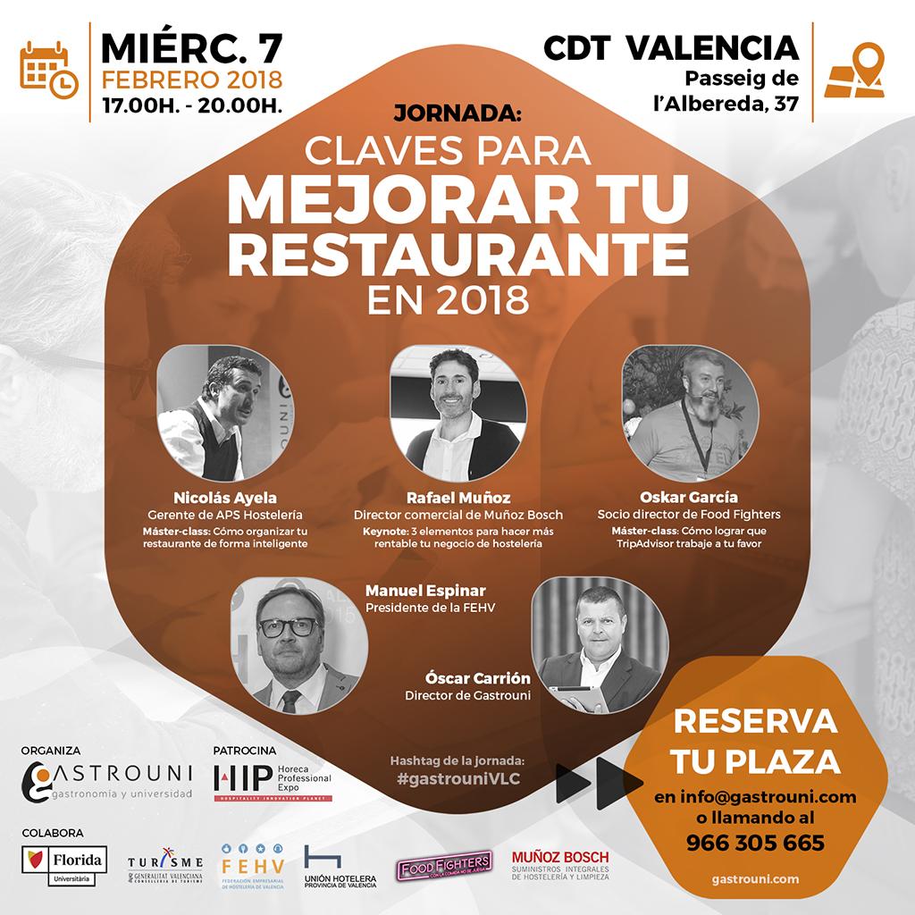 Jornada Gastrouni en Valencia