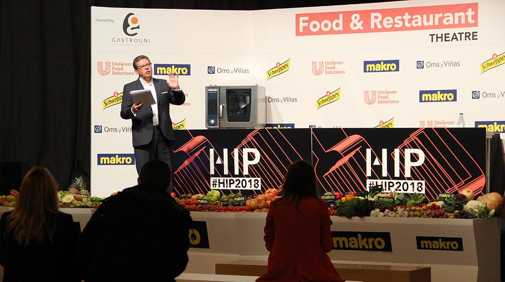 Adolfo Artiles en el espacio Food & Restaurant