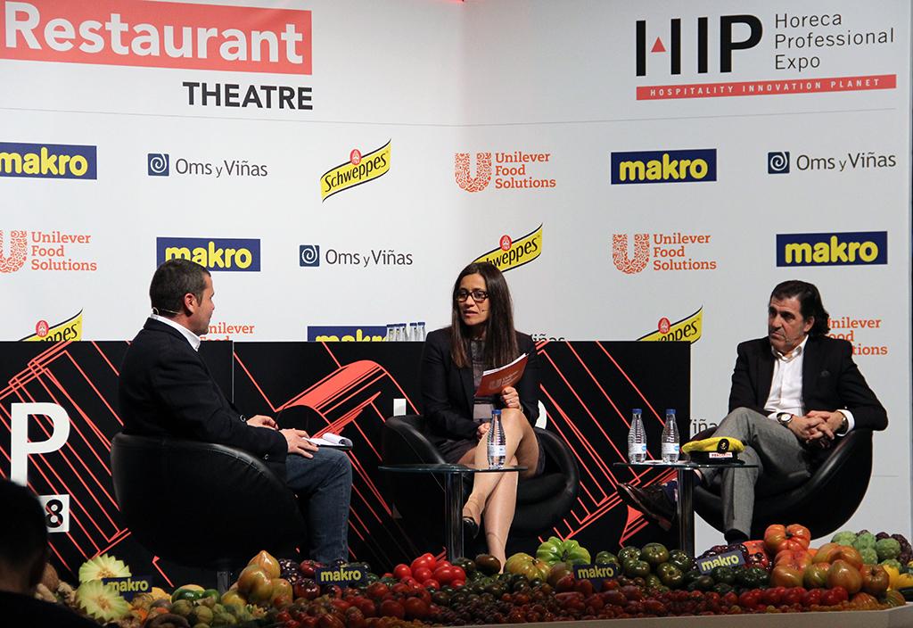 Ángels Solans y Antonio Henares en su ponencia en HIP