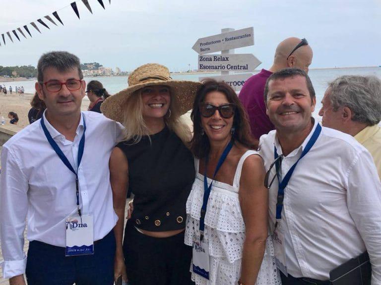 Antonio Llorens, Eva Ballarin, Cuchita Lluch y Oscar Carrion presentan Festival Gastronomico DNA