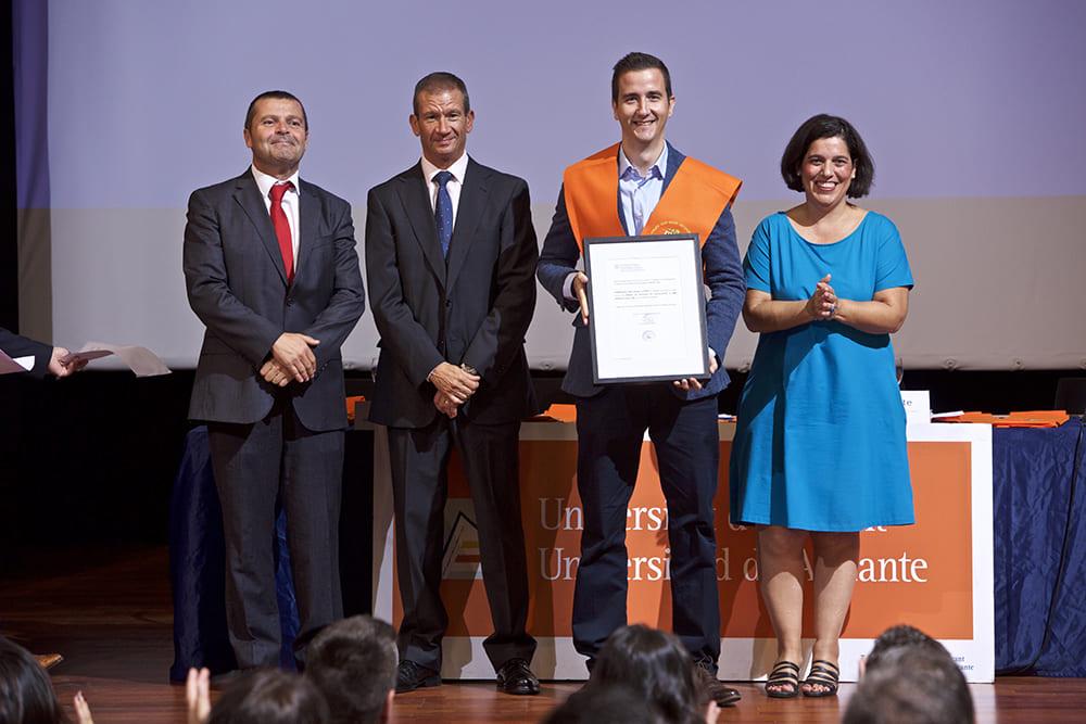 Graduación Máster Restaurantes de Gastrouni en Alicante 2017-2018