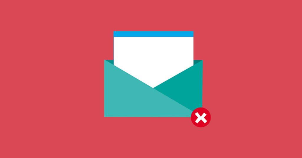 spam errores marketing