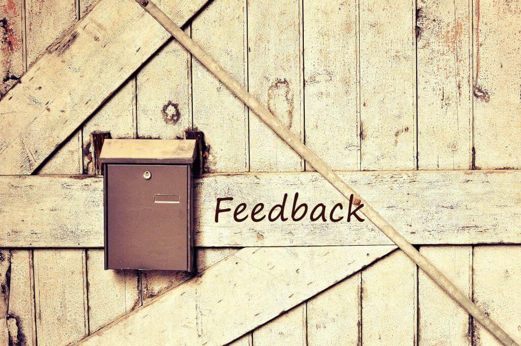 buzón de feedback
