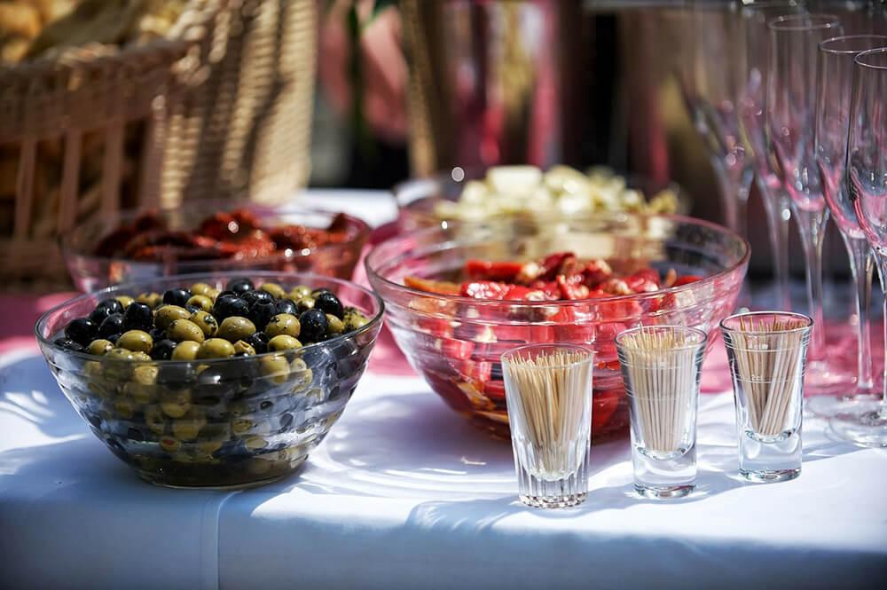 El catering en un banquete del sector HORECA