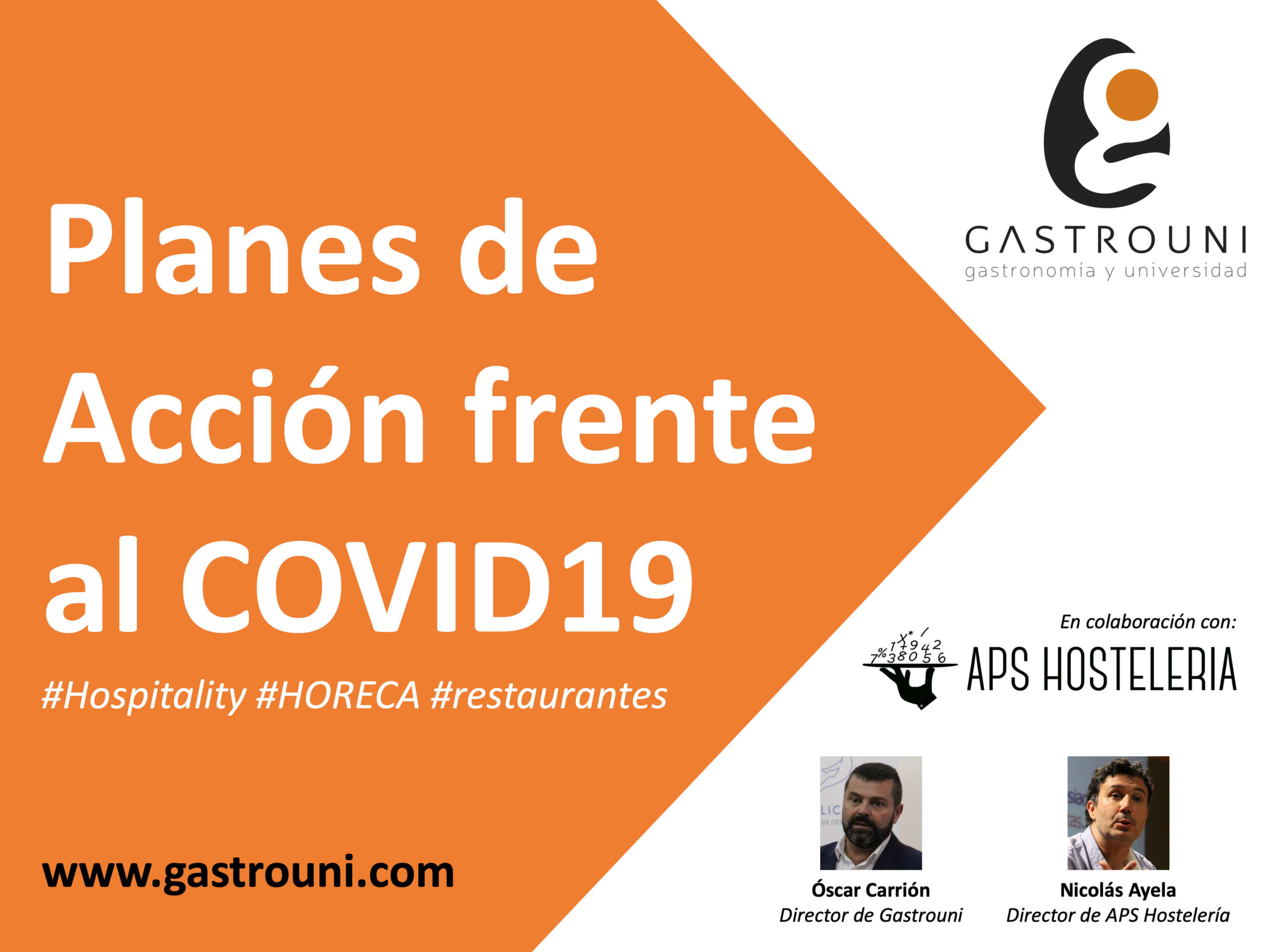 COVID19 - Gastrouni y APS Hosteleria