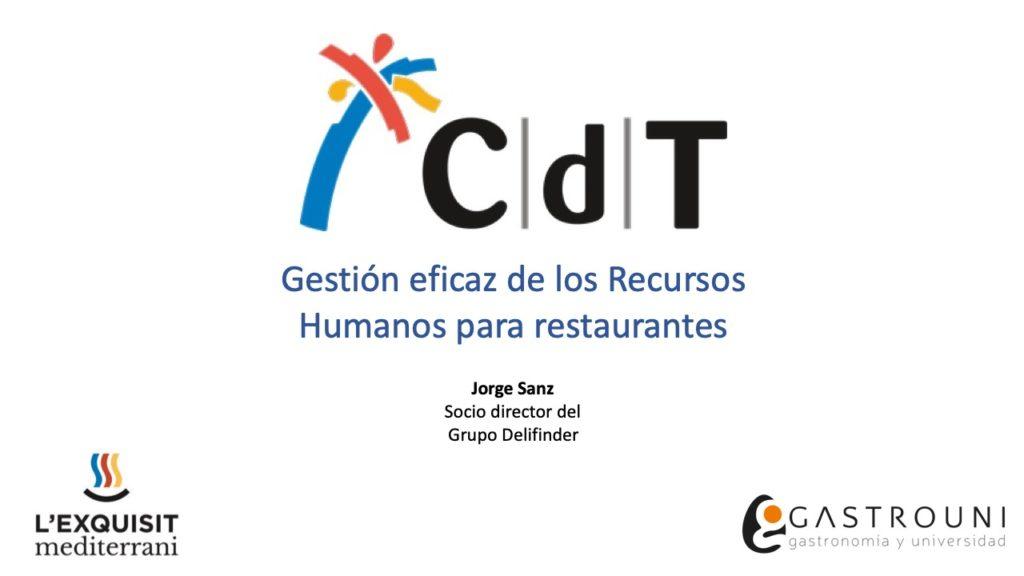 Gestión eficaz de los Recursos Humanos para restaurantes