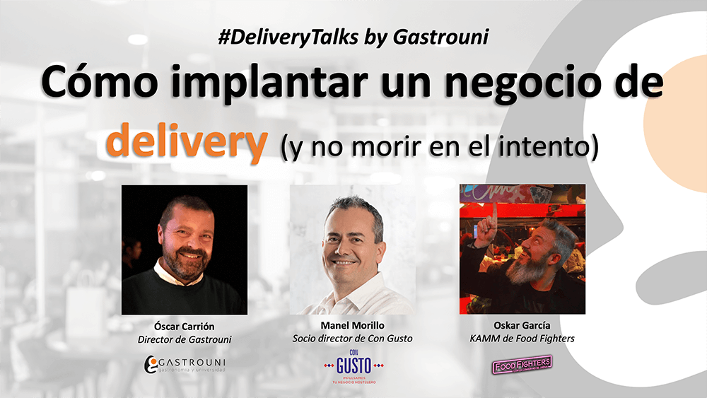 Evento delivery by Gastrouni